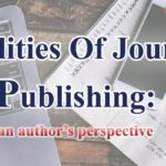 The realities of journal publishing