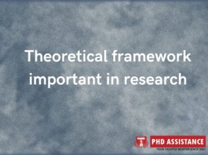 Why is theoretical framework important in research
