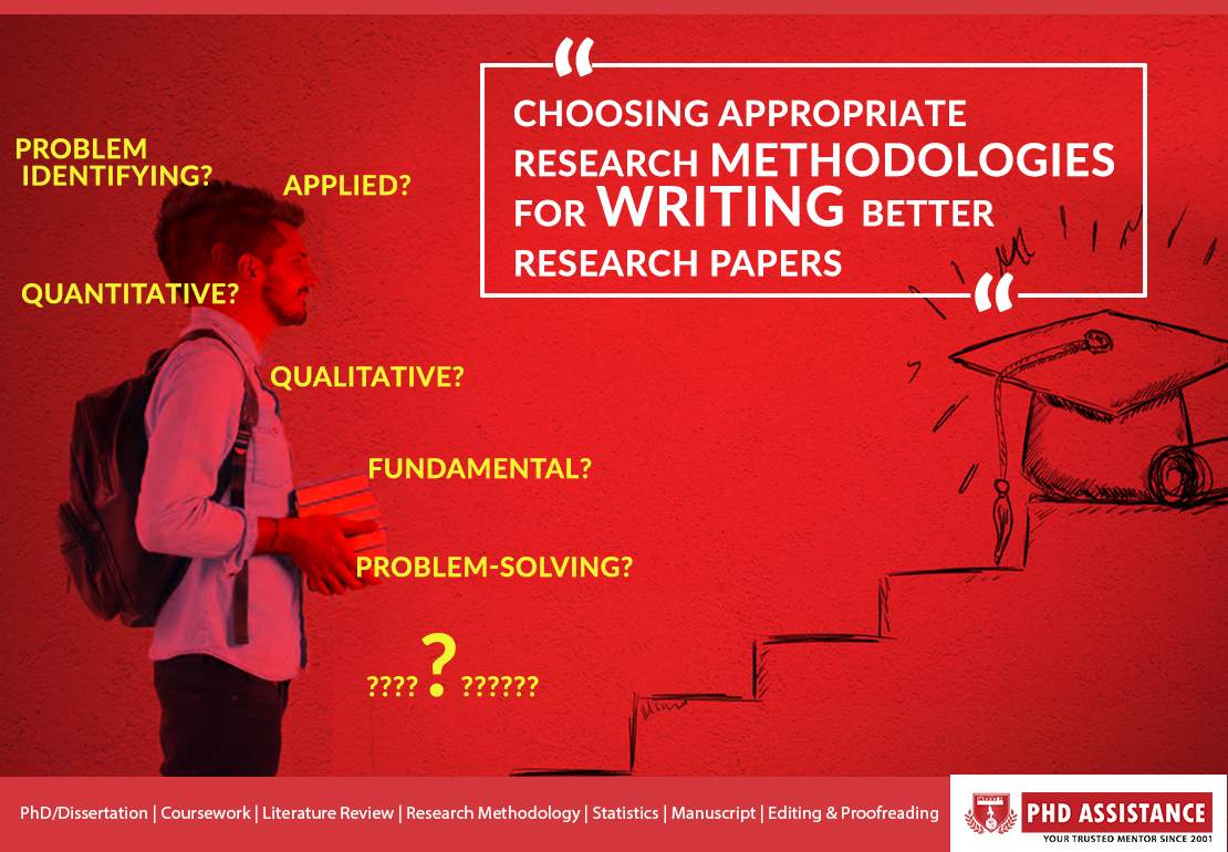 Choosing appropriate research methodologies for writing better research papers