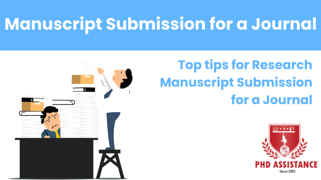 Top tips for Research Manuscript Submission for a Journal
