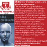 Discover the dissertation course with Image Processing