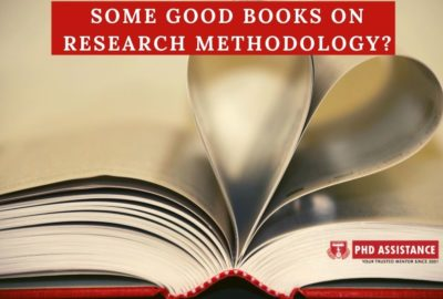 Some good books on Research Methodology
