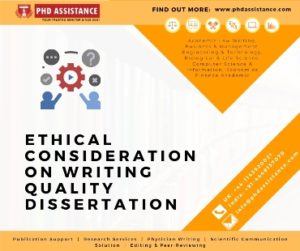 Importance of ethical considerations in a research